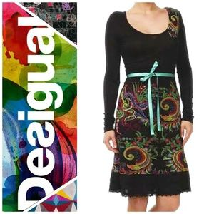 Desigual Unique & Soft Long Sleeve Dress